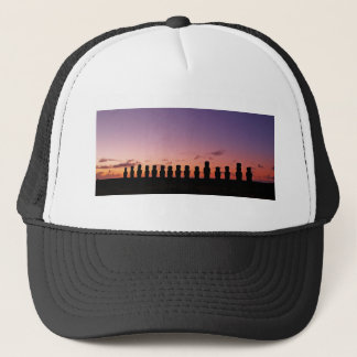 Chile Figures In The Sunset Trucker Hat