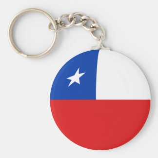 Chile Fisheye Flag Keychain