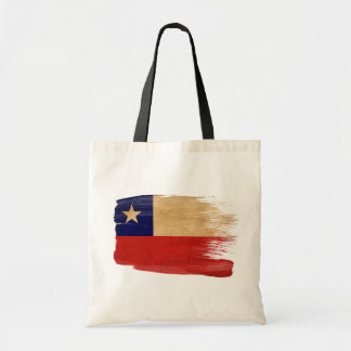 Chile Flag Canvas Bags