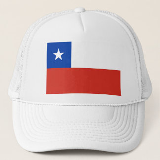 Chile Flag CL Trucker Hat