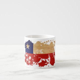 Chile Flag Espresso Cup