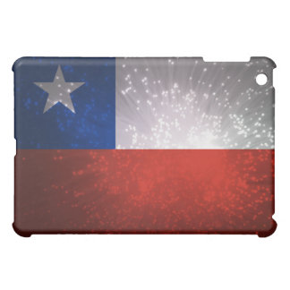 Chile Flag Firework iPad Mini Case