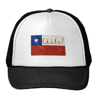 Chile Flag Trucker Hats