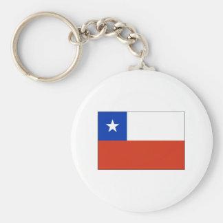 Chile FLAG International Keychains
