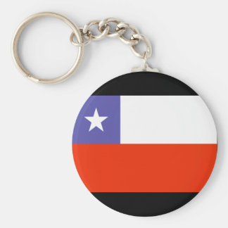 Chile Flag Key Chains