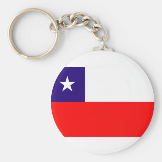 CHILE FLAG KEY RING