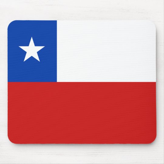 Chile Flag Mousepad