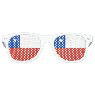 Chile Flag Retro Sunglasses