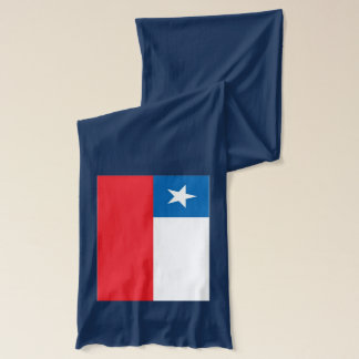 Chile Flag Scarf