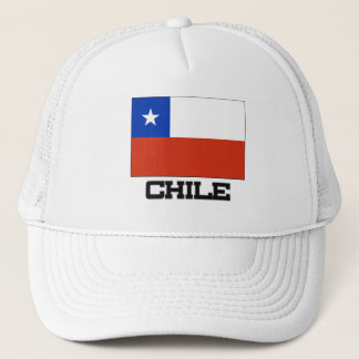 Chile Flag Trucker Hat
