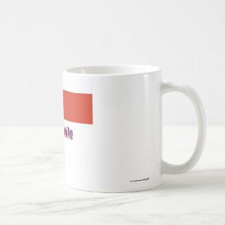 Chile Flag with Name Coffee Mug
