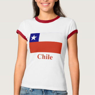 Chile Flag with Name T-shirts