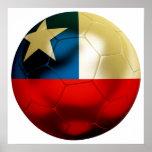 Chile Football Print