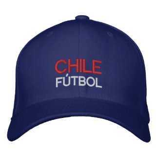 CHILE FUTBOL EMBROIDERED HAT