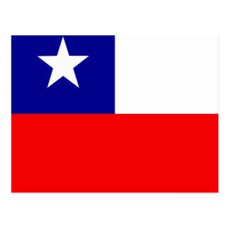 Chile High quality Flag Postcard