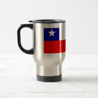 Chile High quality Flag Stainless Steel Travel Mug