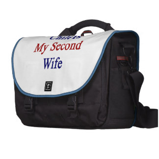 Chile Is My Second Wife Laptop Bag
