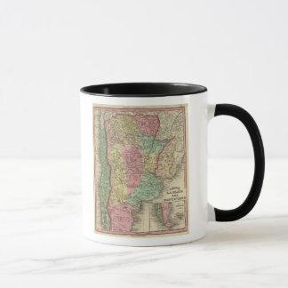 Chile La Plata And Montevideo Mug