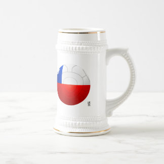 Chile - La Roja Football Beer Steins
