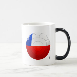 Chile - La Roja Football Morphing Mug