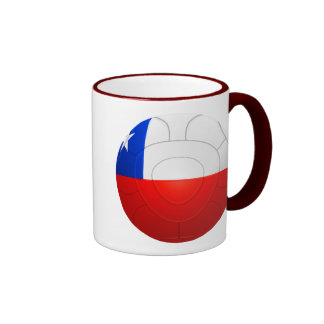 Chile - La Roja Football Ringer Mug