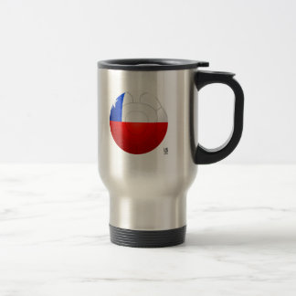 Chile - La Roja Football Stainless Steel Travel Mug