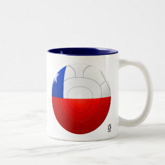 Chile - La Roja Football Two-Tone Mug