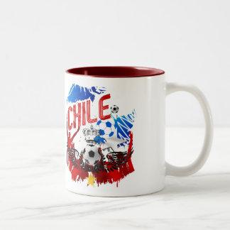 Chile La Roja grunge art soccer futbol gifts Coffee Mug