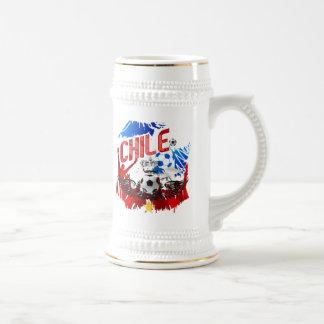 Chile La Roja grunge art soccer futbol gifts Mug