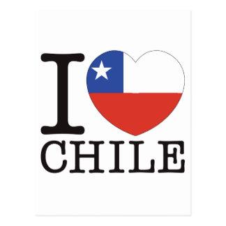 Chile Love v2 Post Card