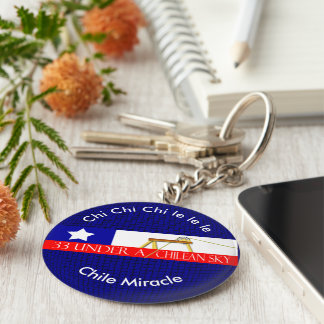Chile miracle key ring