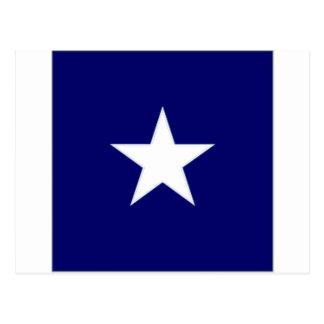Chile Naval Jack Postcard