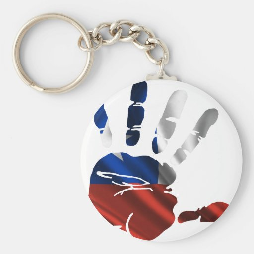 CHILE NICE HAND FLAG PRODUCTS KEY CHAINS