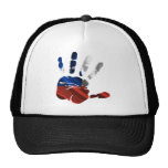 CHILE NICE HAND FLAG PRODUCTS TRUCKER HATS