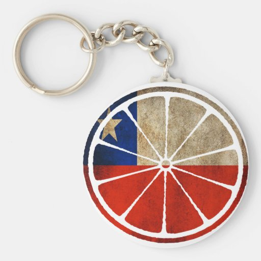 CHILE ORANGE PRODUCTS KEYCHAINS
