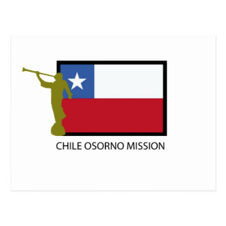 Chile Osorno Mission LDS CTR Postcards