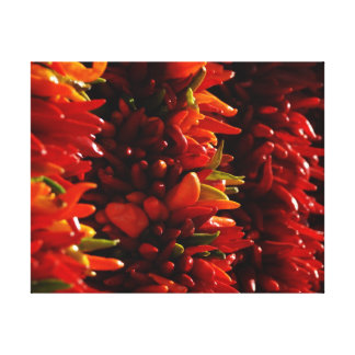 Chile Peppers Canvas Prints