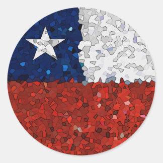 Chile Pintado Classic Round Sticker