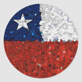 Chile Pintado Round Sticker