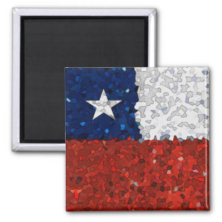 Chile Pintado Square Magnet