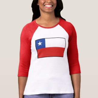 Chile Plain Flag T-Shirt