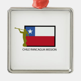 Chile Rancagua Mission LDS CTR Christmas Ornament