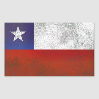 CHILE RECTANGULAR STICKER