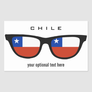 Chile Shades custom stickers