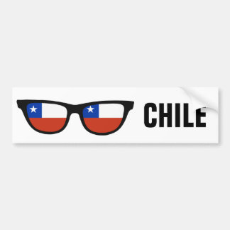 Chile Shades custom text & color bumpersticker Bumper Sticker