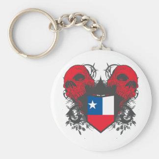 Chile Skulls Key Chains
