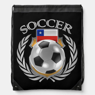 Chile Soccer 2016 Fan Gear Drawstring Bag