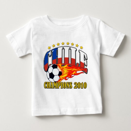 Chile Soccer Baby T-Shirt