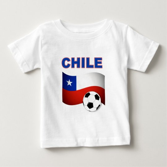 chile soccer football baby T-Shirt