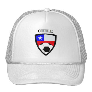 Chile Soccer Mesh Hats